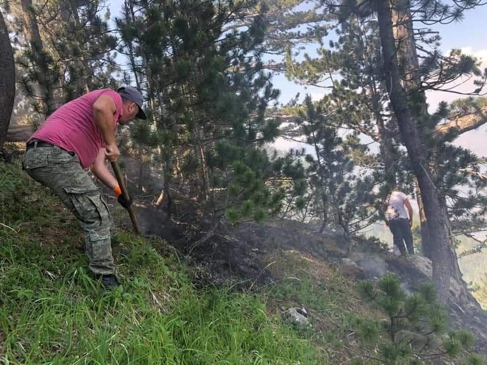 Bijtë e Gjallëjqes nisen për të shuar zjarrin-Nga Admir Sinamati