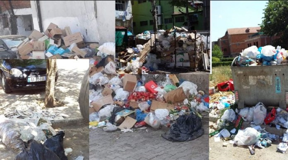 Kukësi pushtohet nga plehrat, PD: Qyteti po kthehet në një 'Palermo'