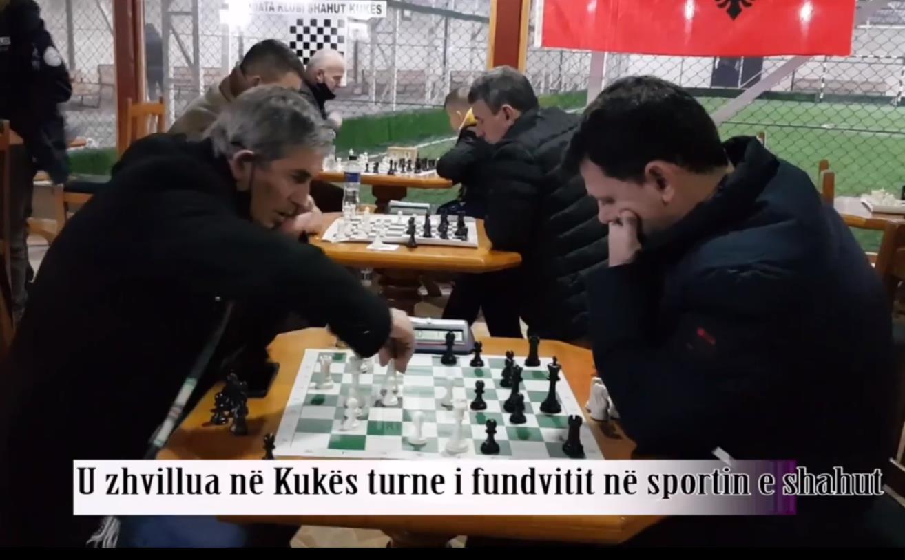 VIDEO/ Zhvillohet në Kukës turneu i fundvitit në shah