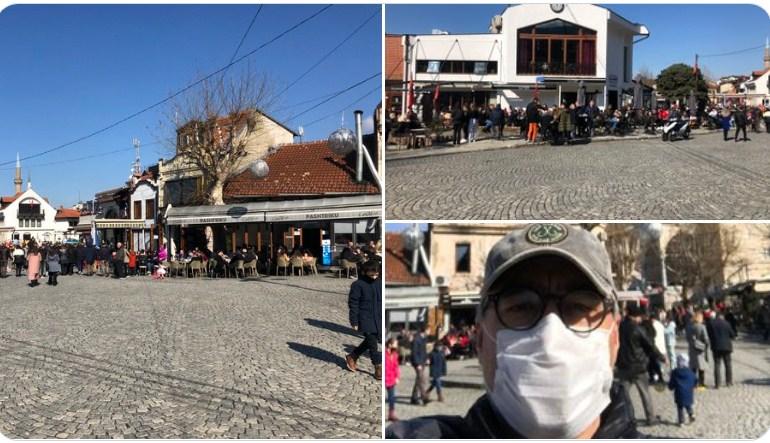 Shefi i UNICEF-it: Duket sikur jam i vetmi me maskë në Prizren