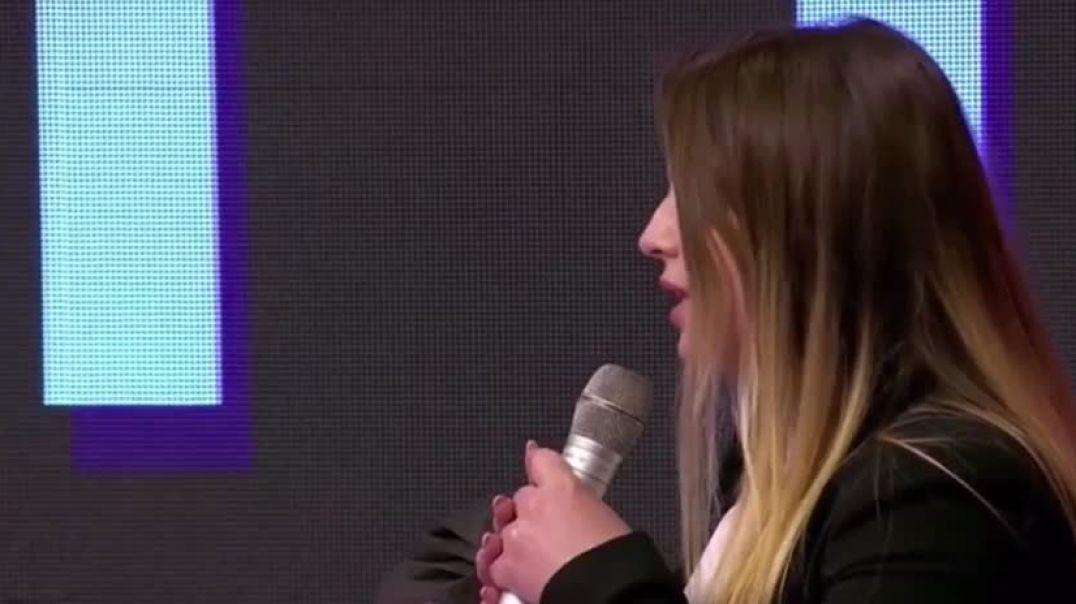 VIDEO/ Kandidatja e Ramës, Gerta Duraku: Në Kukës ka male, liqen dhe bie borë
