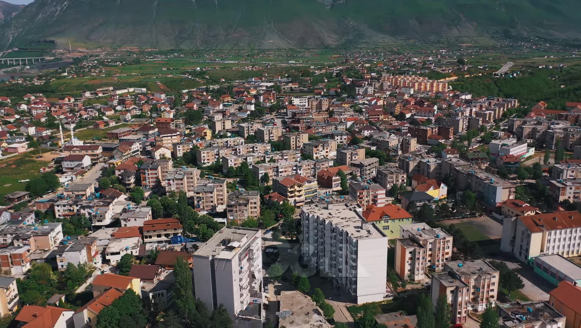 VIDEO/ Kukësi nga lart, pamje me dron