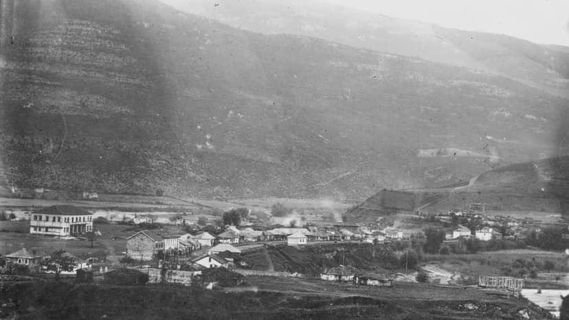 FOTO historike/ Si u ndërtua Kukësi i Vjetër