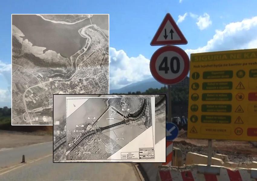 VIDEO/ Rama lë Kukësin pa rrugë hyrëse, mbyllet ura e vjetër mbi Drinin e zi
