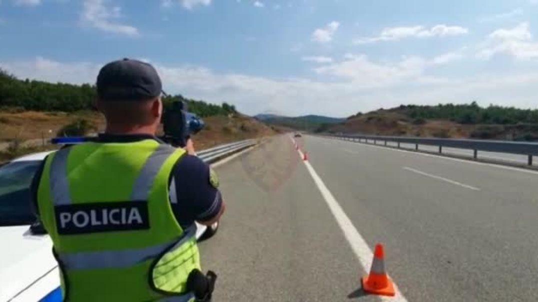 VIDEO/ Kontrolle në Rrugën e Kombit, arrestohen 12 shoferë dhe hiqen 45 patenta